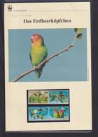 """2009  Malawi WWF  """"Das Erdbeerköpfchen""""  Komplettes Kapitel - Collections, Lots & Series"""