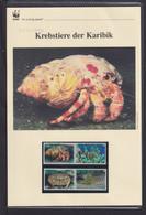 "2010  St. Vincent Bequia WWF  ""Krebstiere Der Karibik""  Komplettes Kapitel - Lots & Serien"