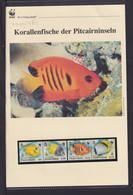 "2010  Pitcairn WWF  ""Korallenfische Der Pitcairninseln""  Komplettes Kapitel - Lots & Serien"