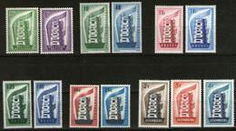 Europa-CEPT Jahr 1956 Komplett 6 Sätze (13 Marken) **/MNH - 1956