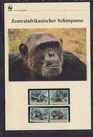 "2012  Zentralafrika  WWF  ""Zentralafrikanischer Schimpanse""  Komplettes Kapitel - Lots & Serien"