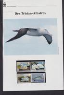 "2013  Tristan Da Cunha WWF  ""Der Tristan-Albatros""  Komplettes Kapitel - Lots & Serien"