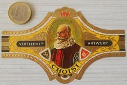 F54 Lot Bagues De Cigares  Verellen Antwerp  Choisi Personnage Historique - Anelli Da Sigari