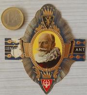 F55 Lot Bagues De Cigares  Verellen Antwerp  Choisi Personnage Historique - Anelli Da Sigari
