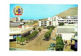 Cpm - Maroc - Agadir - Panorama Armoiries De La Province - Voiture  2 CV CITROEN DS - Blason Station Essence ESSO - Agadir
