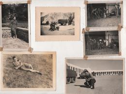 MILITARIA - LOT DE 25 PHOTOGRAPHIES ORIGINALES DE MILITAIRES DE 1940 à 1957 - CERTAINES SONT LEGENDEES AVEC DES NOMS - Guerra, Militari