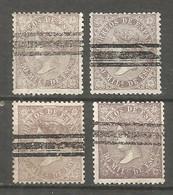 SPAIN 1868 Used Stamps 4v - Usados