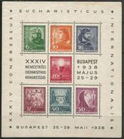 Hungary,Eucharistic Congress In Budapest 1938.,block,MNH - Ongebruikt