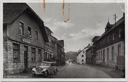 Gruß Aus Büllingen, Bullange, Gaststätte Gebrüder Rever Und Hotel, Poststempel Jünkerath 1943 - Bullange - Buellingen