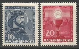 Hungary,Eucharistic Congress In Budapest 1938.,MNH - Ongebruikt