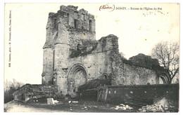 CPA - Carte Postale - France- Donzy Ruines De L'Eglise Du Pré 1911 VM34867i - Cosne Cours Sur Loire