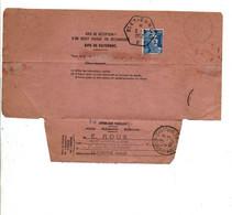 AVIS DE PAIEMENT DE SAINT ETIENNE POUR SAINT JULIEN CHAPTEUIL HAUTE LOIRE 1952 - 1921-1960: Modern Tijdperk