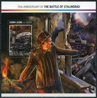 Sierra Leone 2017 SL000 World War II. The 75th Anniversary Of The Battle Of Stalingrad. Tanks. Aircraft - WW2