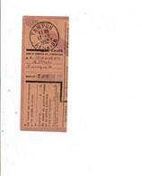 OBLITERATION SUR COUPON DE TAMPON REUNION 1952 - 1921-1960: Modern Tijdperk
