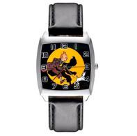 Montre à Quartz NEUVE Bracelet Cuir ! ( Watch ) - Tintin - Orologi Moderni
