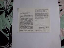 Rijkswachter Mark Dufait (Oostende 1962 - Dilbeek 1987);Rijkswacht;Brigade Dilbeek - Images Religieuses