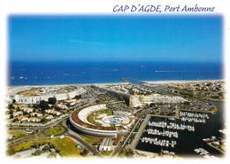 34 - Cap D'Agde - Port Ambonne - Vue Aérienne - Agde