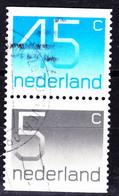 Niederlande Netherlands Pays-Bas - Zusammendrucke Aus MH (MiNr: W 32) Bzw. (NVPH: 166) 1980 - Gest Used Obl - Booklets
