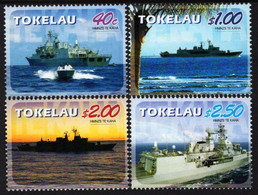 "Tokelau - 2005 - Visit Of  Visit Of HMNZS Ship ""Te Kaha"" - Mint Stamp Set - Tokelau"