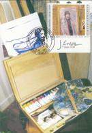 [13429]TB//-CMAX 2822a - 1999, MB, Avec Tabs, James Ensor, Art, Tableaux, Painting, Emission Commune Avec Israël - 1991-2000