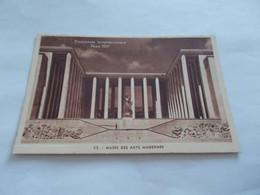 PARIS 75 EXPOSITION INTERNATIONALE 1937  MUSEE DES ARTS MODERNES - Exhibitions