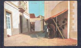 SPAIN Tarjeta DE CADIZ .Edificios. ZAPATERIA EN UNA CALLE DE LA LINEA DE LA CONCEPCION Unused - Cádiz