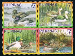Philippines 2007 Animals Wild Ducks Birds Fauna Duck Bird Nature Animal Stamps MNN - Patos