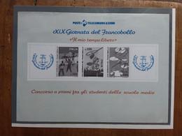 REPUBBLICA - Giornata Del Francobollo 1977 - Foglietto Ricordo + Spese Postali - Hojas Bloque