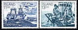 Iceland - 1983 - Fish Industry - Fishing Boats - Mint Stamp Set - Ongebruikt