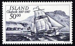 Iceland - 1987 - Olafsvic Trading Station, 300 Years - Mint Stamp - Ongebruikt
