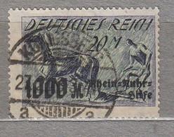 GERMANY 1923 Mi 260 Expertise Gepruft Used(o) #30269 - Usati