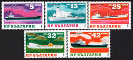 Bulgaria - 1983 - Cargo Ships - Mint Stamp Set - Nuovi