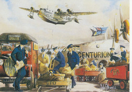 Flying Boats 'Centurion' And 'Centaurus' Carrying Mail Southampton Docks To Africa,India And Australia - By Toby Norriss - 1919-1938: Entre Guerras