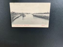 Oostende - Ostend - Vissers Boten - Staketsel - Port -Haven - Oostende