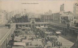 CPA - Cadiz - Plaza De Abastos - Cádiz