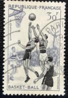 France - République Française - W1/9 - (°)used - 1956 - Michel 1100 - Sport - Usati