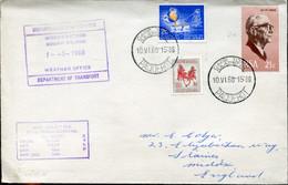 RSA - Republik Südafrika - 1st Definitive Issue - Special Paquebot Letter - Antarctic Expedition Gough Islands - Covers & Documents
