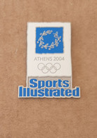 2004 Athens Olympic Games, Sports Illustrated Sponsor Pin - Jeux Olympiques