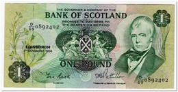 SCOTLAND,1 POUND,1984,P.111f,VF - 1 Pound