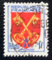France - République Française - W1/9 - (°)used - 1955 - Michel 1075 - Provinciewapen - Usati
