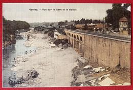 CPA - Orthez  -  Vue Sur Le Gave Et Le Viaduc - Orthez