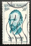 France - République Française - W1/10 - (°)used - 1956 - Michel 1115 - Vincent Van Gogh - Usati