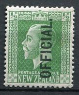 Neuseeland Dienst Nr.20                 *  Unused                   (071) - Officials