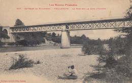 Environs De Navarrenx. Viellenava.  Le Pont Sur Le Gave D'Oloron - Otros Municipios