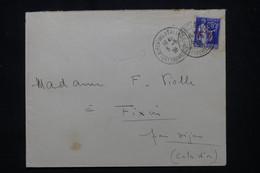 FRANCE - Enveloppe En Fm De St Laurent De La Salanque Pour Fixin En 1938, Affranchissement Paix Surchargé  FM - L 102167 - 1921-1960: Modern Tijdperk