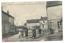 08 - SAULCES-CHAMPENOISES - Route D'Attigny - CPA - Unclassified