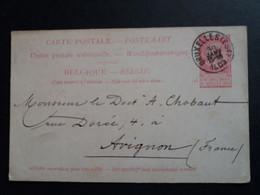 Belgique  Oblitération  Bruxelles (est) Sur EP N°29 - Cartoline [1871-09]