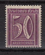 DEUTCHES REICH : 144 MNH   ** - Chiffre -  Filigrane A (gaufre - Waffle) (1921-22) - Nuevos