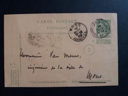 Belgique  Oblitération  Bruxelles Rue Joseph II Sur EP N°41 - Cartoline [1871-09]
