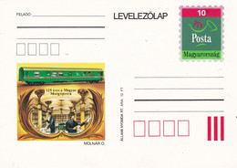 HUNGARY - 1993.Postal Stationery - 125th Anniversary Of The Hungarian Train Service - Trains